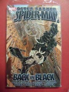 PETER PARKER SPIDER-MAN: BACK IN BLACK UNREAD SOFT COVER (9.4 NM)  MARVEL