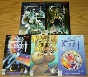 Aqua Knight part 2 #1-5 VF/NM complete series - viz manga - yukito kishiro 2 3 4