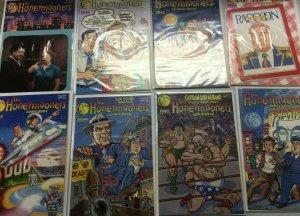 The Honeymooners run from:#1-9 9.0 NM (1987+88)