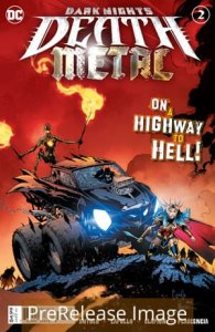 DARK NIGHTS DEATH METAL (2020 DC COMICS) #2 2ND PTG GREG CAPULLO R PRESALE-08/25
