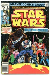 STAR WARS COMICS #8 1978- Jaxxon, Hedji,, Don-Wan Kihotay, Amaiza FN