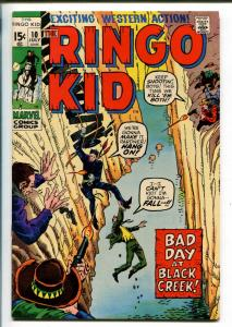RINGO KID #10 1971-MARVEL-WESTERN ACTION-vf
