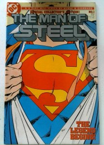 Man of Steel #1 DC 1986 NM- Copper Age 1st Printing Comic Book