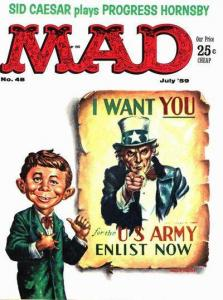 Mad (1952 series) #48, VG (Stock photo)