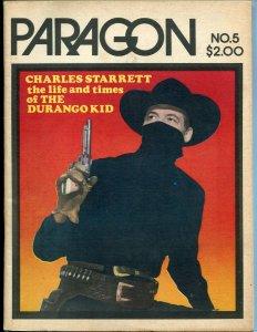 Paragon #5 1973-Durango Kid-Charles Starrett-Captain Marvel-info-movie pix-FN