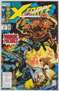 X-Force #21 (Vol. 1) (VF-NM)