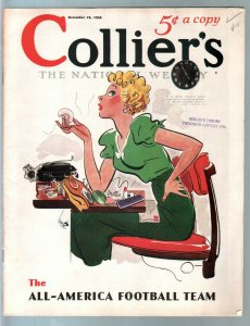 Colliers 12/18/1936-GGA cover by Earl Oliver Hurst-pulp thrills-Haycox-Baldwin-F