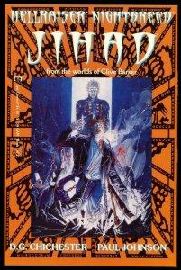 JIHAD #1, NM, Clive Barker, Hellraiser, NightBreed, 1991, more Horror in store