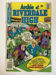ARCHIE AT RIVERDALE HIGH (1972-1987)51 VF-NM  Jan 1978 COMICS BOOK