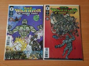 The Warrior of Waverly Street 1-2 Complete Set Run! ~ NEAR MINT NM ~ 1996