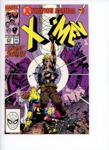 Uncanny X-Men 270  VF  Jim Lee Art  X-Tinction Agenda Part 1