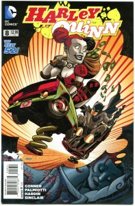 HARLEY QUINN #8, NM, New 52, Amanda Conner, Palmiotti, 2014,  more HQ in store