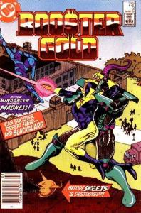 Booster Gold (1986 series) #2, VF+ (Stock photo)