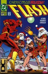Flash (1987 series) #87, VF- (Stock photo)
