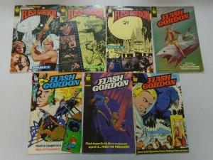 Flash Gordon comic lot w/ Movie 9 issues avg 5.0 VG FN (1980-82 Whitman)