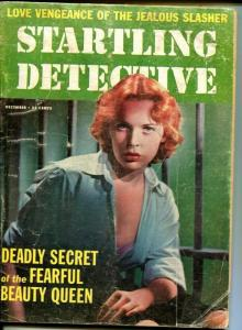 Startling Detective December 1958- Lover's Lane Slaying of the Young widow