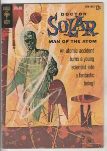 Doctor Solar Man of the Atom #1 (Oct-62) FN/VF High-Grade Doctor Solar