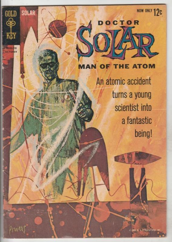 Doctor Solar Man of the Atom #1 (Oct-62) FN/VF High-Grade Doctor Solar
