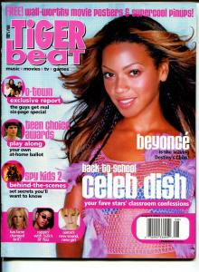 Tiger Beat 8/2002-Britney Spears-Beyonce-O-Town-FN/VF