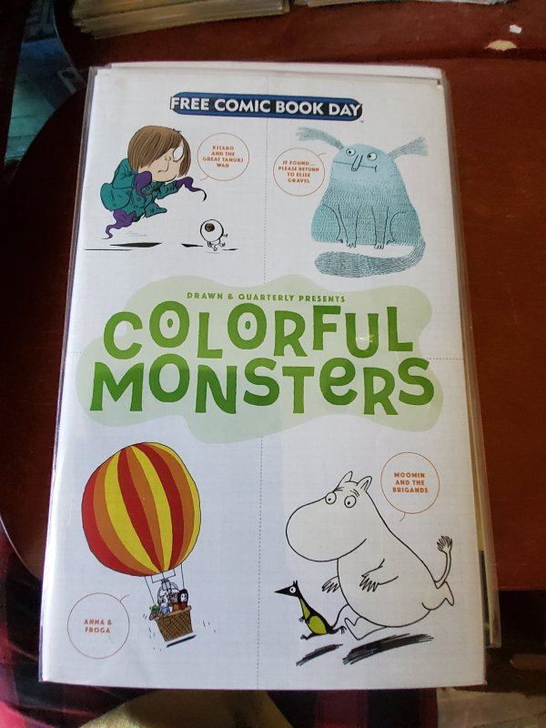 Drawn & Quarterly Presents Colorful Monsters (CA) #1 (2017)