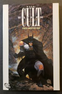 BATMAN: THE CULT TPB SOFT COVER DC COMICS FIFTH PRINTING RARE H.T.F. VF/NM