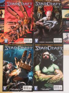 Starcraft (Wildstorm 2009) #1-4 Based off the International Gaming Phenomenon