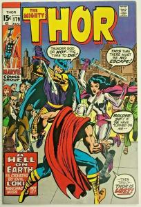 THOR#179 VF 1970 MARVEL SILVER AGE COMICS