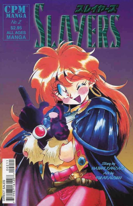 Slayers #2 VF; CPM | save on shipping - details inside