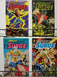SURGE (1984 EC) 1-4 THE SET! DNA Agent goes solo