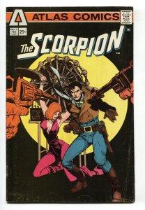 SCORPION #1 1st issue1975-comic book-ATLAS FN