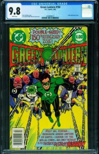 GREEN LANTERN #150-CGC 9.8-ANNIVERSARY ISSUE-1982-2038908017