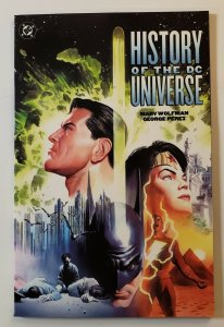 HISTORY OF THE DC UNIVERSE TPB SOFT COVER FIRST PRINT DC COMICS NM