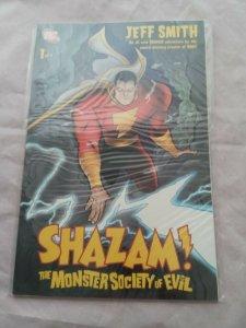 Shazam DC Comics The Monster Society Of Evil #1 By Jeff Smith (Bone) 2007 NM