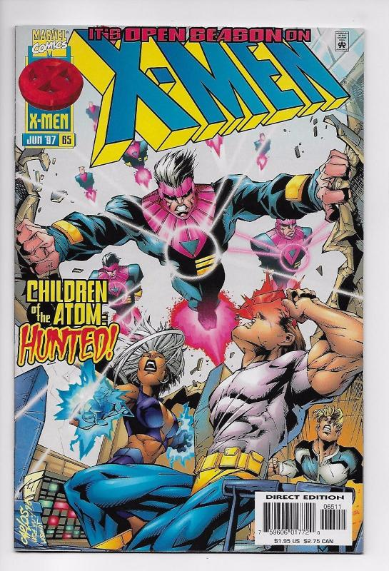 X-Men #65 - 1st Appearance of Cecilia Reyes (Marvel, 1997) - VF