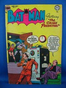 BATMAN COMICS 77  F VF NICE GOLDEN AGE ISSUE 1953