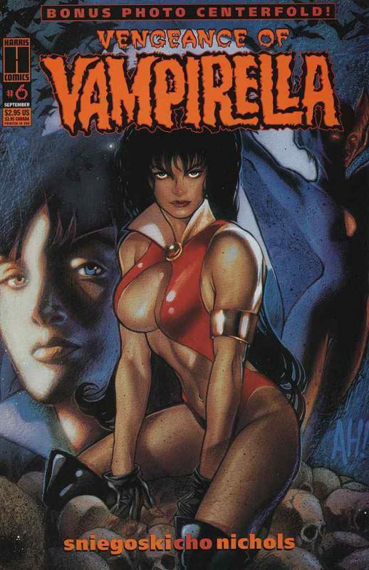 VENGEANCE OF VAMPIRELLA (1994 HARRIS) 6