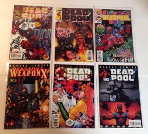 Deadpool 6 Book Near Lot Set Run 31 37 55 56 60 Baby's First Deadpool