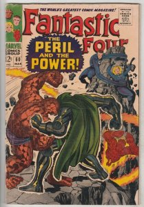Fantastic Four #60 (Mar-67) FN- Mid-Grade Fantastic Four, Mr. Fantastic (Reed...