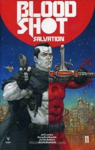 Bloodshot Salvation #11A VF/NM; Valiant | save on shipping - details inside