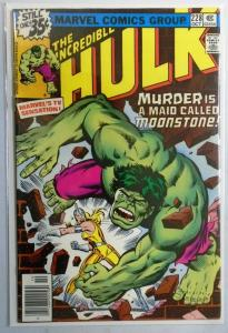 Incredible Hulk (1st Series) #228 1st Appearance of Moonstone 6.0/FN (1978)