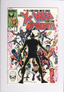 X-Men and the Micronauts # 1  Near Mint Minus (1984)  Super High Grade