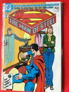 SUPERMAN THE MAN OF STEEL #6 1986 DC /  / HIGH QUALITY