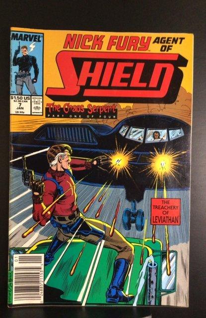 Nick Fury, Agent of SHIELD #7 (1990)