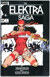 ELEKTRA SAGA #1 2 3 4, VF/NM, 1984,  4 issues, Frank Miller, more in store
