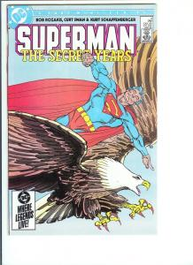 Superman The Secret Years  #4 May, 1985 (VF/NM)