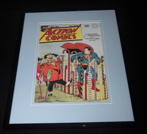 Action Comics #104 Framed 11x14 Repro Cover Display Superman Prankster Candytown