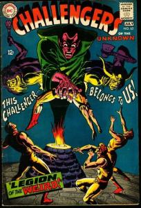CHALLENGERS OF THE UNKNOWN #62-DC VG/FN