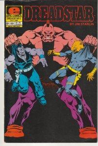 Dreadstar(Epic)# 5 Thanos creator Jim Starlin's Space Opera