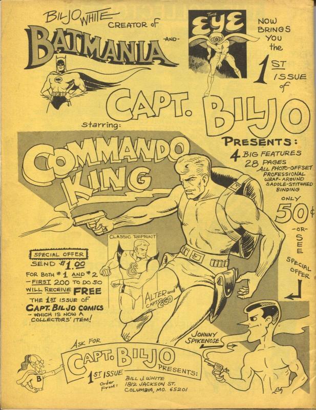 Rocket's Blast Comicollector #61 1968-buy/sell ads-Jerry Bails-Rogofsky-VF