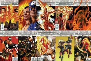 MARVELS PROJECT (2009) 1-8++  Complete Plus Variants!